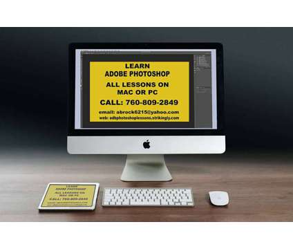 Photoshop Lessons is a Private Instruction & Tutoring service in San Marcos CA