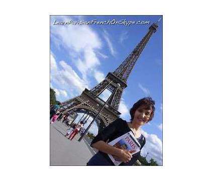 Learn to speak Parisian FRENCH on Skype and travel the World is a Language Lessons service in Toronto ON
