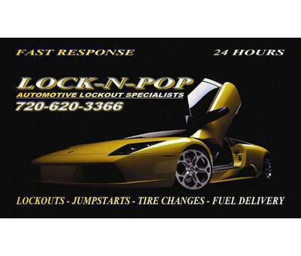 Auto Lockouts, Auto Unlocks, Keys Locked in Car, Car Locksmith is a Auto & Other Vehicle Services service in Denver CO