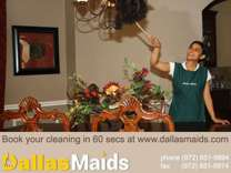 "Dallas Maids, Voted ""Best House Cleaning"" in Dallas"