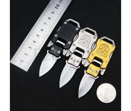 Mini Survival Knife Buckle/Paracord is a Military Gear & Surpluses for Sale in Homosassa FL