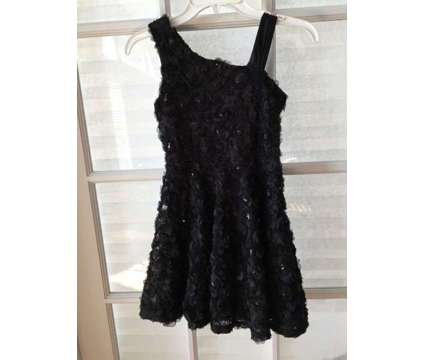 Girl's Black Sequin Dress for Special Occasions is a Black Kid's Clothes for Sale in Wescosville PA