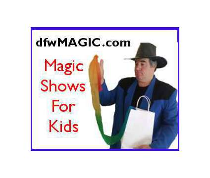 Kid's Party Magic Shows is a Kids Parties service in Dallas TX