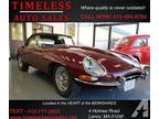 1963 Jaguar XKE OTS! Converted to a Modern 5-Speed Manual Transmission!
