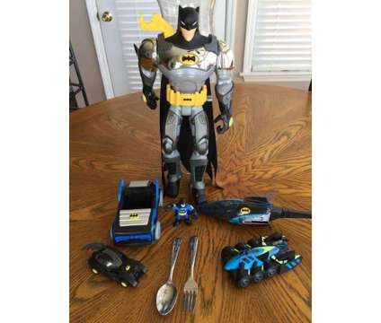 Batman Action Figures and Toys is a Black, Blue, Green Collectibles for Sale in Wescosville PA