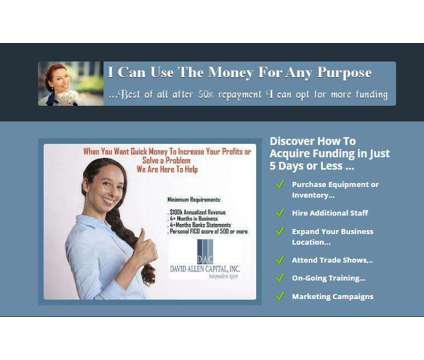 Fast Loans Existing Business Financing is a Financial Loans service in Buena Vista VA