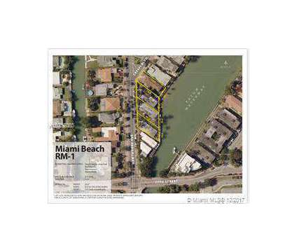 Building with 13 units, waterfront in Miami Beach at 7751 Hawthorne Ave in Miami Beach FL is a Multi-Family Real Estate