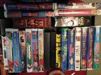 75 DVD's & 44 VHS' - AND VHS/D