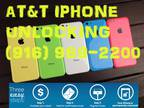 No Travel Factory Unlock Iphone ...AT&T...4.4s..5