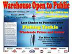 Fishing Tackle Spring Blowout -