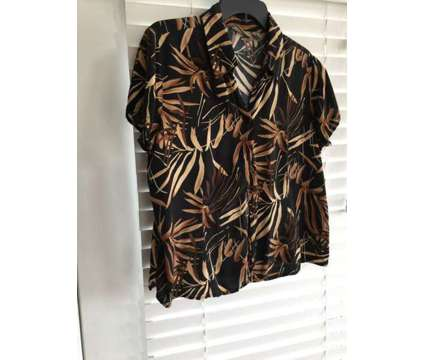 Women's Tropical Design Blouse is a Shirts & Tops for Sale in Wescosville PA