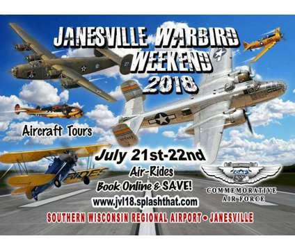Event is a Festival on Jul 21 in Janesville WI