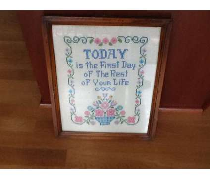 cross Stitch Wall Hanging is a Used Everything Else for Sale in Wescosville PA