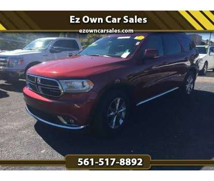 Used 2014 Dodge Durango for sale is a Red 2014 Dodge Durango 4dr Car for Sale in North Palm Beach FL