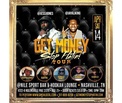 Hurry! Don't Miss This Live Hip Hop Show is a Concert Ticket in Nashville TN