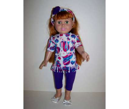 Doll Clothes - Knit top, Leggings and Headband is a Everything Else for Sale in Glendale AZ