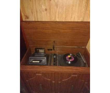 Vintage Record Player Antique Stereo with 8 Track Player is a Audios for Sale in Port Arthur TX