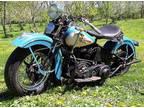 1939 Knucklehead Harley Davids
