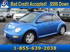 Bright Blue Pearl 2001 Volkswagen Beetle GLX 1.8T