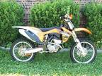 2011 KTM 250 SXF fuel injected four stoke