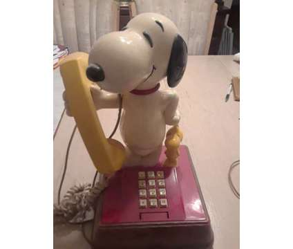 snoppy telephone is a Used Home & Garden Products for Sale in Schaumburg IL