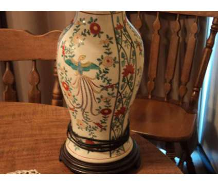 Wildwood table lamp is a Collectibles for Sale in Pampa TX