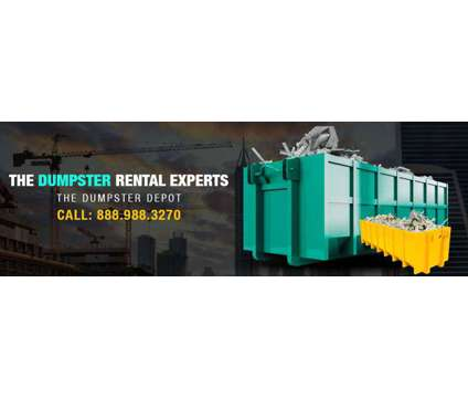 Dumpster Rental Services in Arcadia CA is a More Property