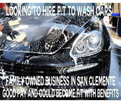 Looking to hire P/T to wash Cars is a Part Time Looking to Hire P T to Wash in Job Job at Mobile Car Wash in San Clemente CA