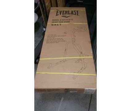 Everlast Heavy Bag Stand is a Exercise Equipment for Sale in Mount Pleasant SC