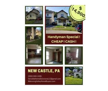Handyman Special, Cheap, CASH in New Castle PA is a Single-Family Home