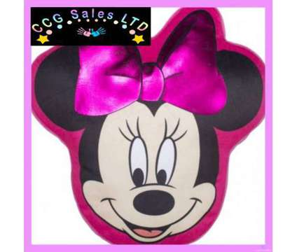Official Disney Minnie Mouse Shaped Cushion is a Kid's Beddings for Sale in Sebastopol TOF