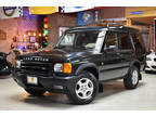2000 Green Land Rover Discovery Series II