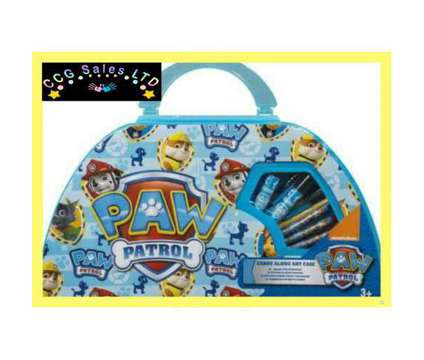 Official Paw Patrol 50 Piece Carry Along Art Case is a Toys for Sale in Sebastopol TOF