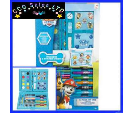 Official Paw Patrol 52 Piece Filled Colouring Art Case is a Toys for Sale in Sebastopol TOF