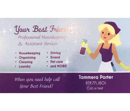 Professional Housekeeping & Assistant Services is a Home Cleaning & Maid Services service in Wilkesboro NC
