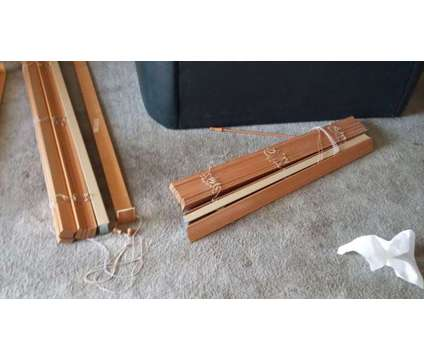 Quality 2' wood blinds. Not imitation. Selling dirt cheap is a Home Decors for Sale in West Hollywood CA