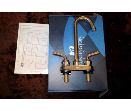 Bar Faucet ( NEW ) Huntington Brass Cypress Bar Sink Lavatory Faucet 2 Handle Ch is a Kitchen & Cookings for Sale in Fort Worth TX