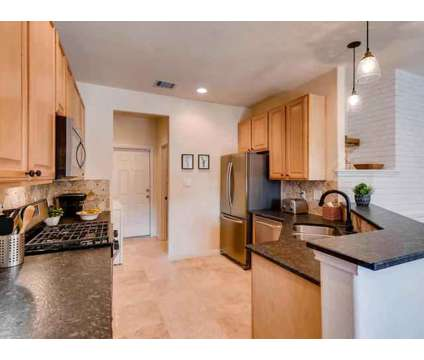 "Rare 3 Bedroom w/2-Car Garage! Gorgeous 18"" Travertine Tile floors downstairs & at 4620 W William Cannon Dr in Austin TX is a Real Estate and Homes"