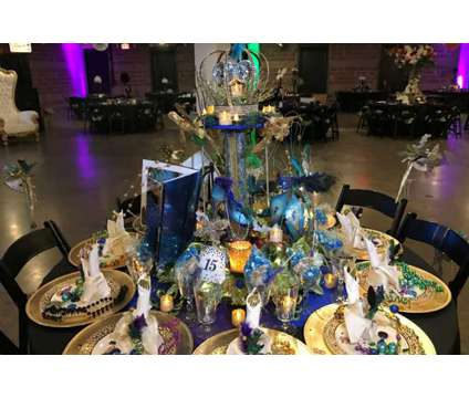 Custom Fairy Tale Table Setting with for Wedding Decoration or Birthday Party is a Blue, Green, Purple Everything Else for Sale in Dallas TX
