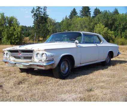 1964 Chrysler 300 K Letter Cars 2 Cars Both Were Factory Ram Cars - is a 1964 Chrysler 300 Model Classic Car in Gaston OR