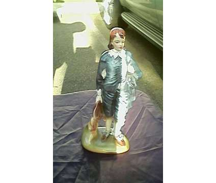 Vintage Little Boy Blue Figurine (Marked) is a Blue Collectibles for Sale in Mount Vernon WA