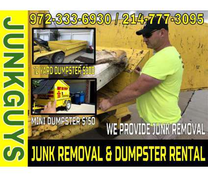 Junk Removal Service Dallas is a Removal of Junk or Building Materials service in Dallas TX