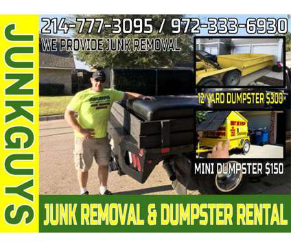 Sofa and Couch Removal $65-$75 Sameday Service is a Removal of Junk or Building Materials service in Dallas TX
