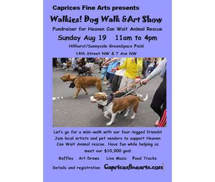 Call To Artists for Dog Walk & Art Show Fundraiser is a Artist News & Announcements listing in Calgary AB