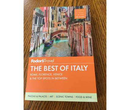 The Best of Italy Book-Rome, Florence, Venice is a Books & Magazines for Sale in Wescosville PA