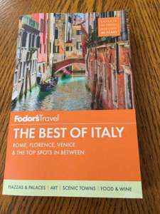 The Best of Italy Book-Rome, F