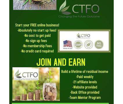 Free Business Opportunity is a Employee Business Opportunity in Business Opportunity Job at Ctfo in Lantana TX