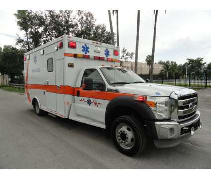 2011 Ford F-450 XLT Super Duty Ambulance Type I is a 2011 Ford F-450 XLT Commercial Trucks & Trailer in Miami FL
