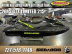 2015 Sea-Doo GTX Limited 215 LIMITED 215