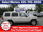 2007 Gray Jeep Commander